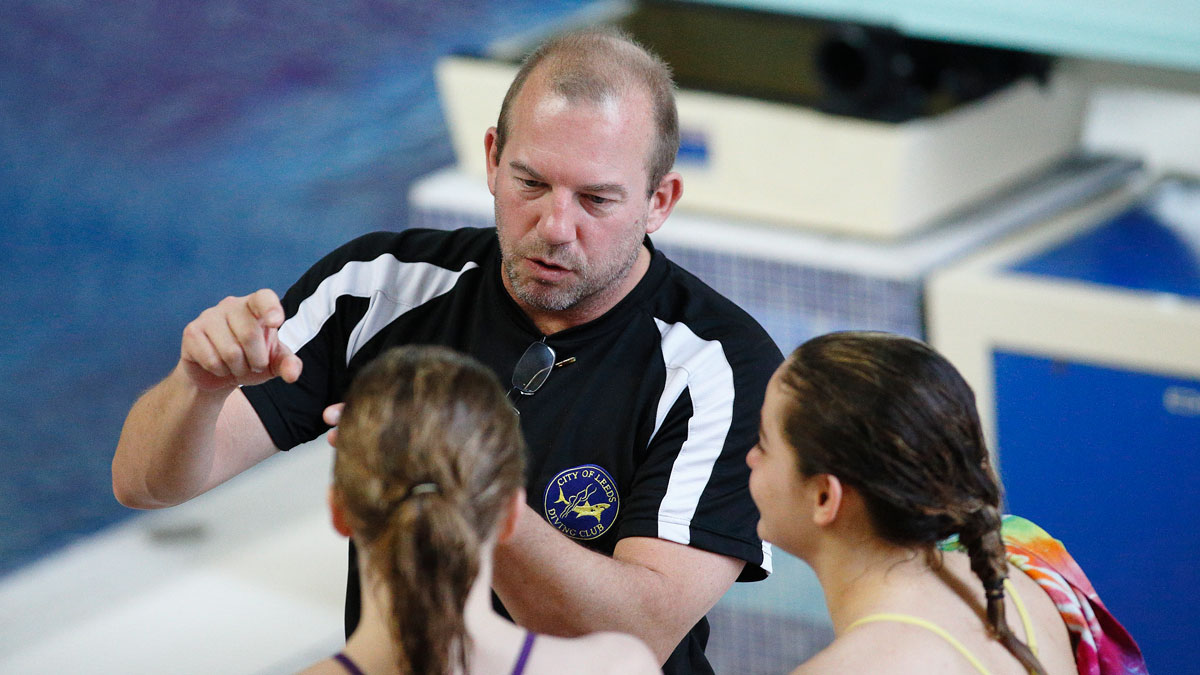 Get Involved with Diving Coaching