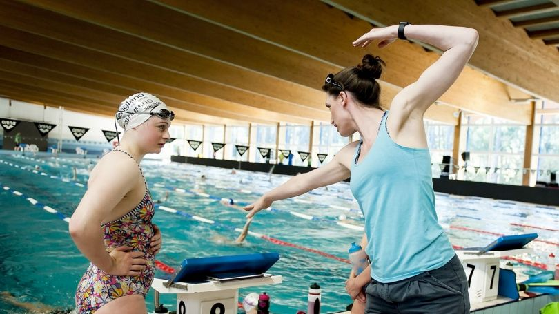 Coach 2024 programme swim england talent coach development Royal school swimming pool wolverhampton