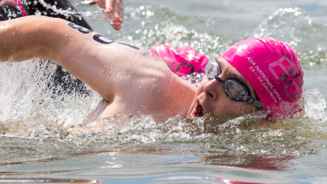 Improve your breathing in open water swimming