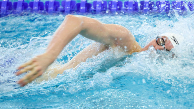 Walton breaks age group record for freestyle gold
