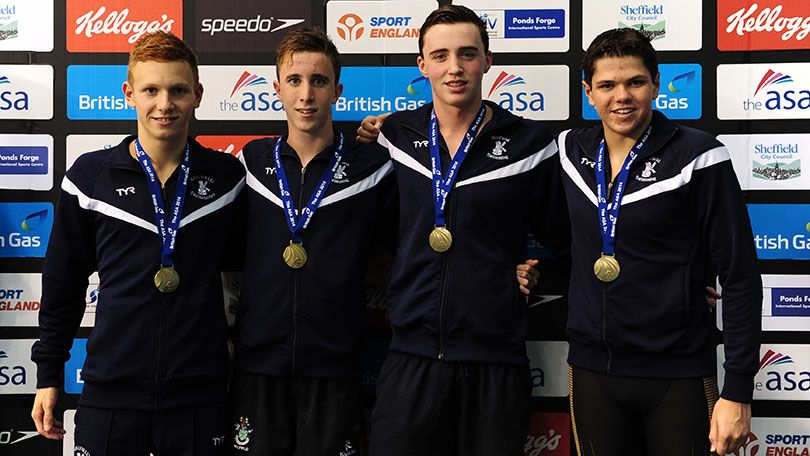 Millfield and Taunton Deane land Medley Relay golds