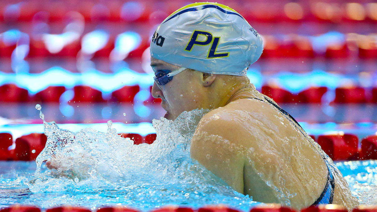 Ruta Meilutyte shines to bring curtain down on Champs