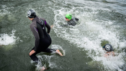 Tips for practising in open water