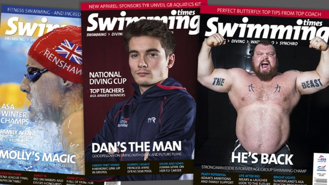 Swimming Times magazine – subscribe today
