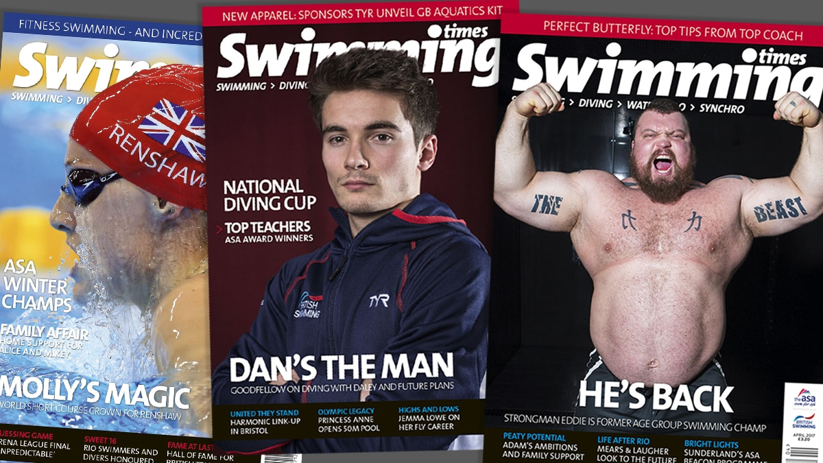 Swimming Times magazine - subscribe today