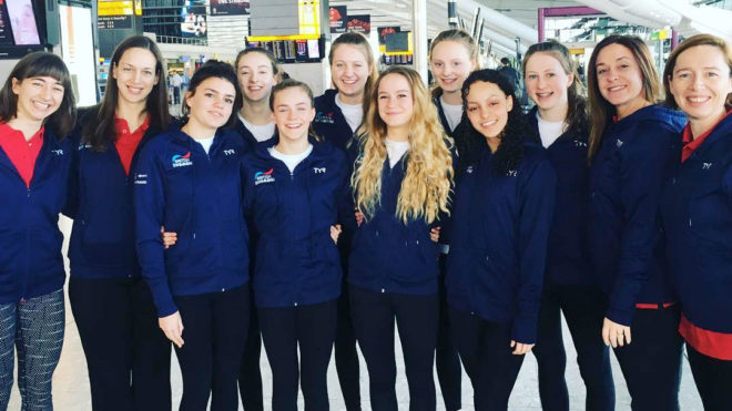 British team to compete at first leg of Synchro World Series