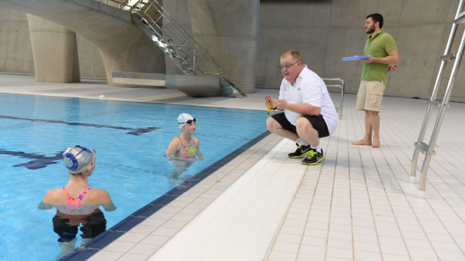 Identifying and teaching disabled swimmers