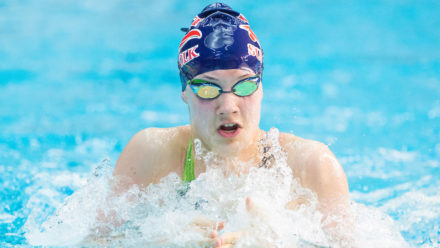 Angharad Evans breaks British record for Junior gold