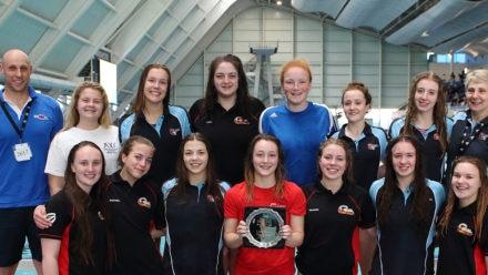 City of Bristol claim U19 Girls Water Polo Plate