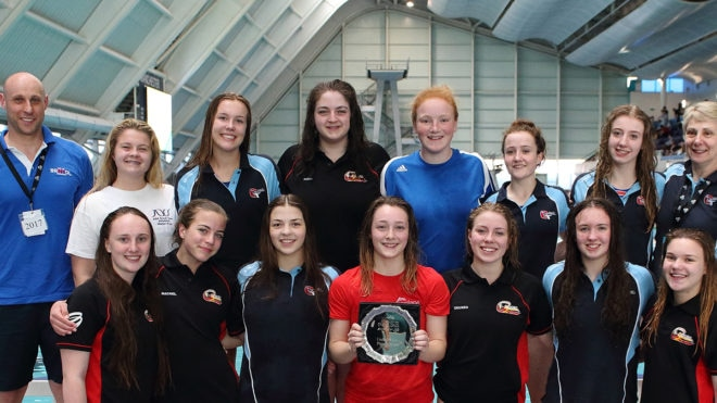 City of Bristol claim U19 Girls Water Polo Plate