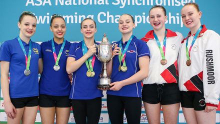 Thorpe and Shortman hit new heights to land Duet Free gold