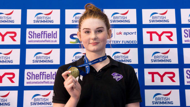 Freya Anderson shines to win first senior British title