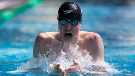 British record for Litchfield in 400m IM