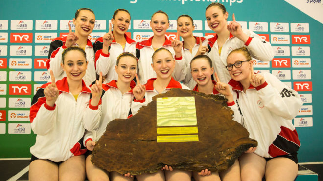 Rushmoor lift Redwood Trophy with Free Team gold