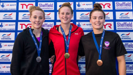 Sarah Vasey lands elusive British title in 100m Breast