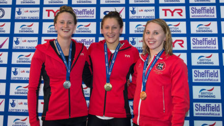 Imogen Clark breaks British 50m Breaststroke record