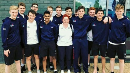 Swim England Water Polo Boys' U17 Squad