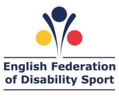 EFDS logo square. English Federation of Disability Sport logo.