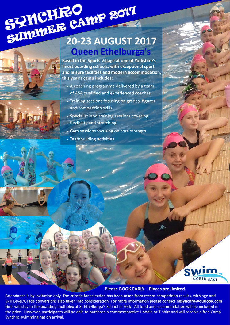 North East Synchro Summer Camp 2017