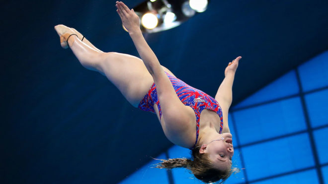 Kat Torrance storms to maiden British 3m Springboard title