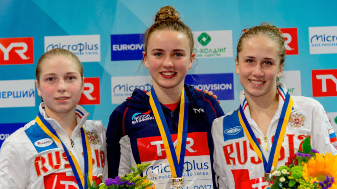 Lois Toulson wins European 10m Platform gold in Kiev