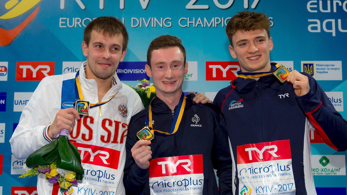 Matty Lee Wins 10m Platform Bronze | Kiev 2017 European Diving