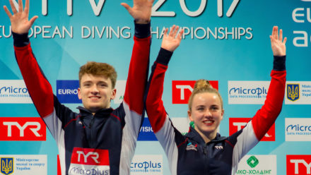 Lee and Toulson combine for Mixed 10m Synchro gold