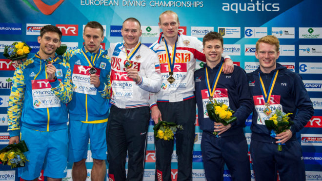 Freddie Woodward wins first European medal