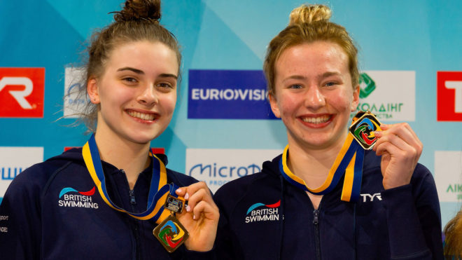 Bower and Banks land shock 10m Synchro gold at Europeans