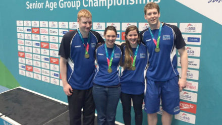 Silver City Blues smash 4x200m Free world record in Aberdeen