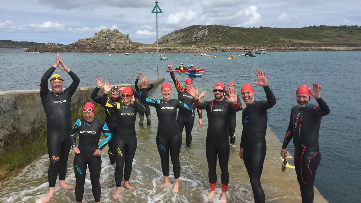 The very Scilly Swim Challenge