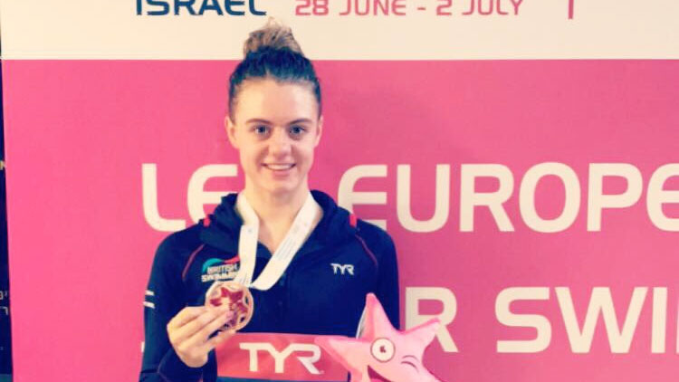Alicia Wilson smashes PB to grab European Junior bronze