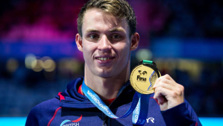 Ben Proud wins gold in British record time