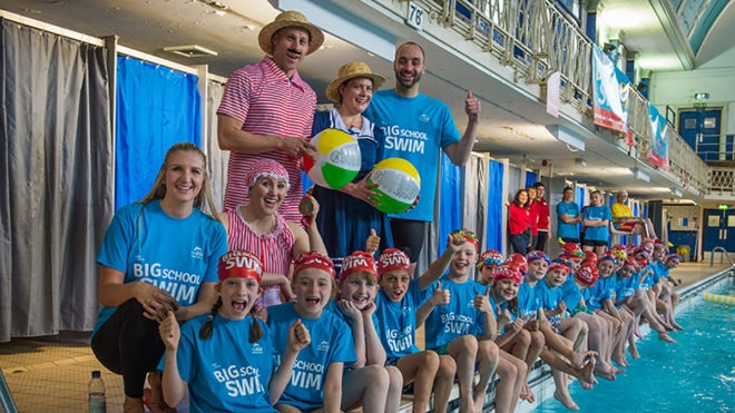 Get involved with the Big School Swim