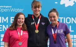 Griffiths wins girls' 17/18yrs 5k gold