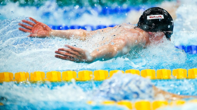 Litchfield narrowly misses 200m IM medals