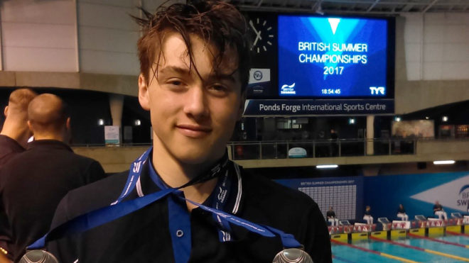 Ned Sharp closes Summer Champs with British Age Group record