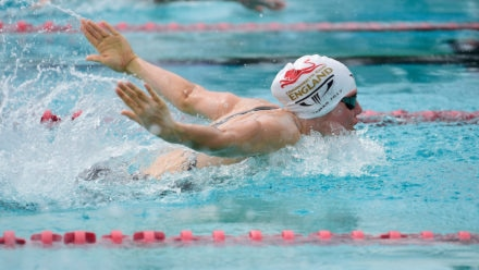 Six titles for Team England swimmers on final day