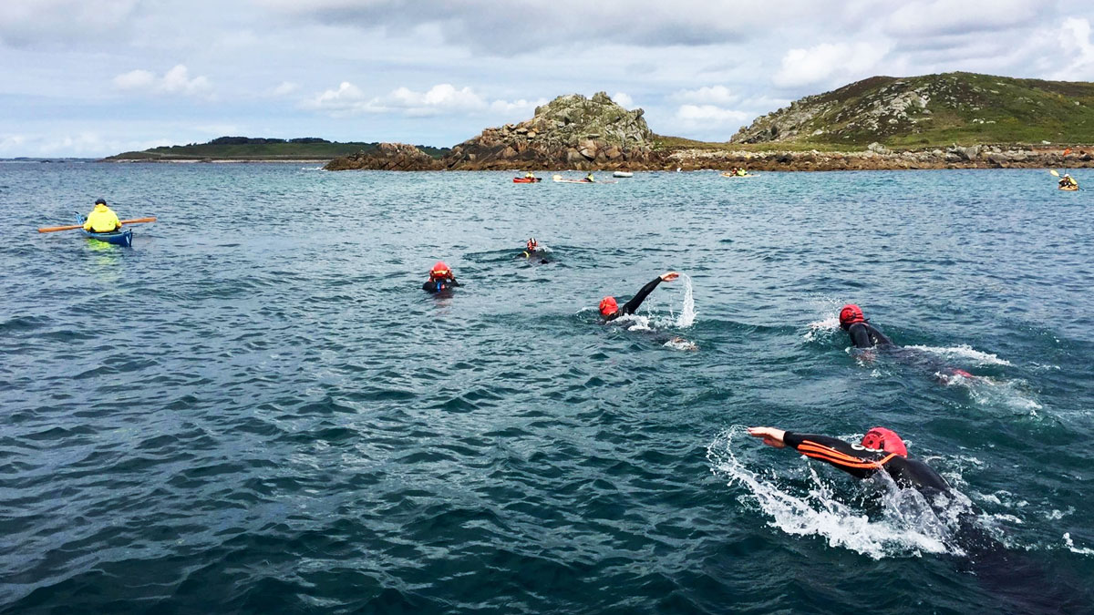 Top tips for sea swimming races