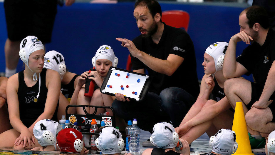 Development of water polo coaching courses in full swing