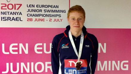 Tom Dean wins 200m IM gold with British record in Israel