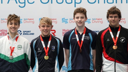 Connor West doubles up on final day of NAG Diving