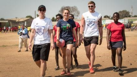 Marshall and Peaty complete #Zambia5050 challenge