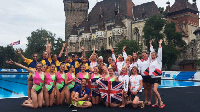 Masters synchro swimmers scoop 10 medals at World Champs