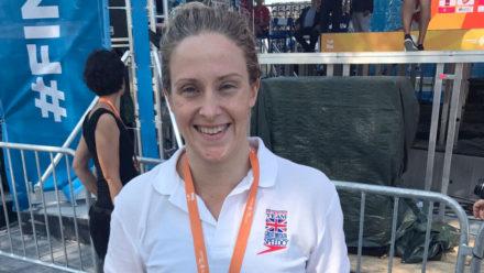 Palmer and Latty set British records for 400m IM golds