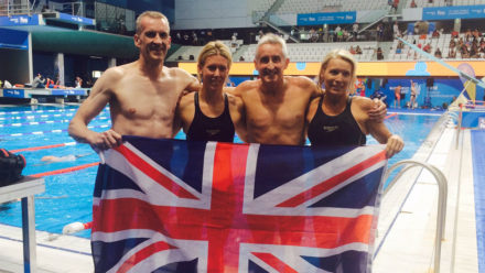 Guildford City set relay world record on day five in Budapest