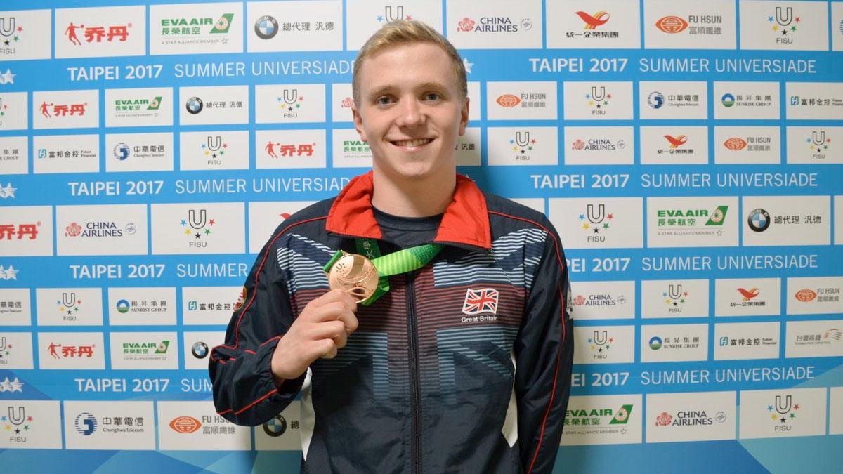 Joe Litchfield seals 200m Individual Medley bronze in Taiwan