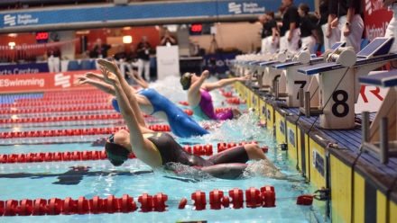 Tully Kearney takes MC 100m Back gold