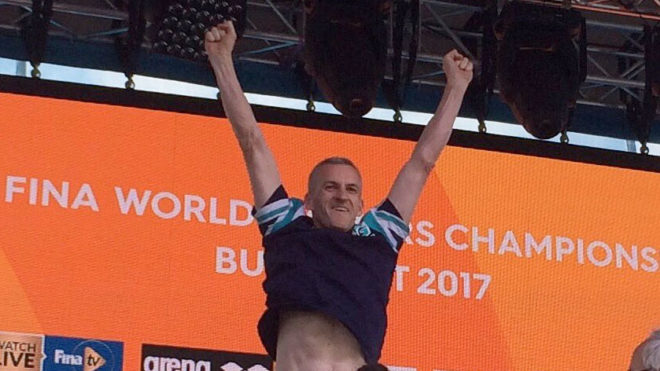 Mike Hodgson closes 2017 World Champs with world record