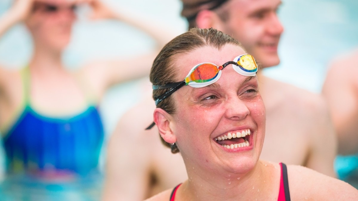 Swimming Fitness Pool Training Session 5